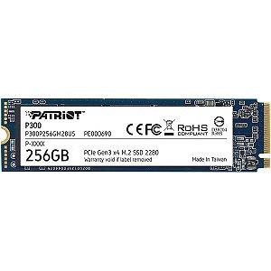 Hd SSD 256gb M.2 Nvme 2280 Patriot P300
