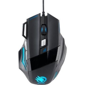 Mouse Gamer Fortrek Óptico USB Black Hawk 2400 dpi - OM703 PT