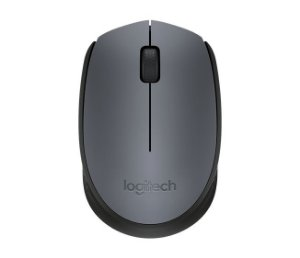 Mouse Logitech Wireless M170 Cinza