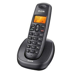 Telefone sem fio com Identificador de Chamadas e Viva voz -  ELGIN
