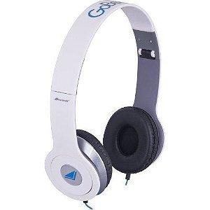 Fone De Ouvido Com Microfone Gobeats Hdp-601 Branco  - Fortrek