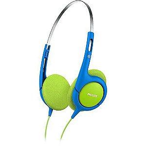 Fone de Ouvido Azul e Verde - SHK1030/00 -  Philips