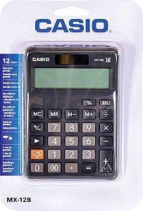 Calculadora De Mesa Mx-12b-S4-Dc - Preta - Casio
