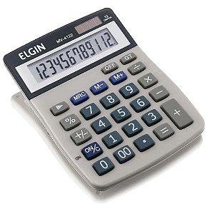Calculadora de Mesa Eletrônica MV-4122 Cinza - Elgin