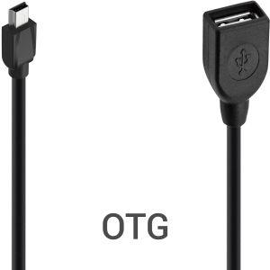 Cabo OTG - USB Fêmea com Saída V3