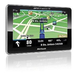 GPS Tela 4,3 - Multilaser GP033