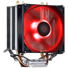 Cooler Para Processador Zero K Z2 92mm Amd/Intel Led Vermelho - Pcyes
