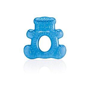 Mordedor com Água Teddy Bear Azul Multikids Baby - BB143