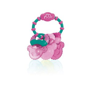Mordedor com Gel Cool Rings Rosa Multikids Baby - BB167