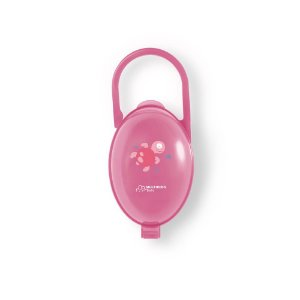 Porta Chupeta Rosa Multikids Baby - BB142