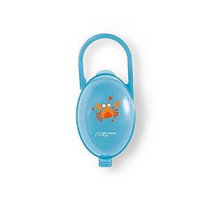 Porta Chupeta Azul Multikids Baby - BB141
