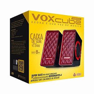 CAIXA DE SOM PC VOXCUBE INFOKIT VC-D400