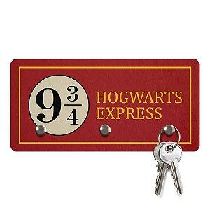 Porta Chaves Ecologico Hogwarts Express 3 Pontos