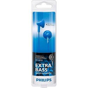 Fone de Ouvido com Graves Extras SHE3010BL/00 Azul PHILIPS