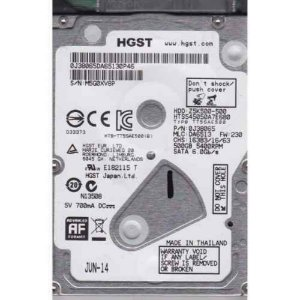 HD para notebook 500gb 5400 rpm Hitachi HGTS sn