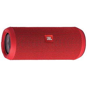 Caixa De Som Bluetooth Jbl Flip 4 16w Rms Verm 100% Original