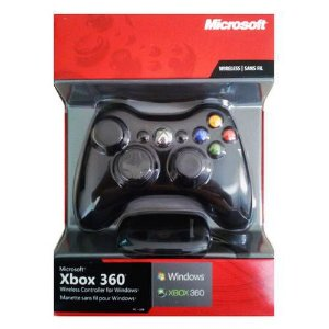 Joystick Wireless Microsoft 1403 X-Box 360/PC Preto Original