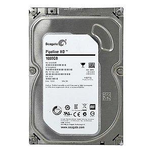 "HD para Desktop Seagate 3.5 HDD ST1000VM002 com 1TB de 3.5"" - Prata sn"