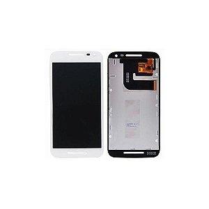 Manutenção Moto G3 branco Troca Display Completo sn