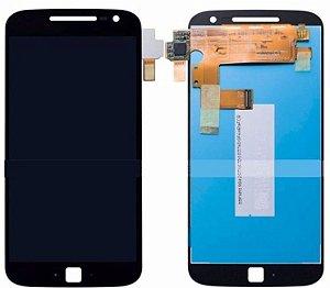Manutenção Moto G4 Plus Troca Display completo sem aro sn