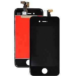 Manutenção Iphone 4G Preto Troca Display Completo sn