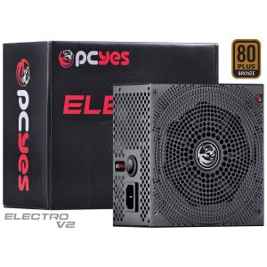 Fonte ATX 430W Real Pcyes Electro V2 Series 80 Plus Bronze
