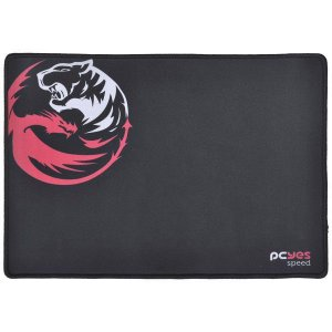 Mouse Pad Gamer Dash Speed 355X254X3MM preto - Pcyes