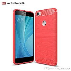CAPA Xiaomi Redmi Note 5A Prime Tela 5.5 Vermelha