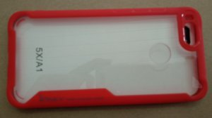 CAPA Xiaomi MI A1 Tela 5.5 Vermelha Ipaky