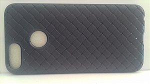CAPA Xiaomi MI A1 Tela 5.5 Azul com textura