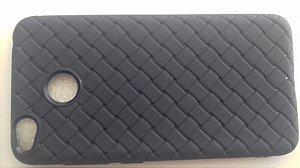 CAPA Xiaomi Redmi 4X Tela 5.0 azul com textura