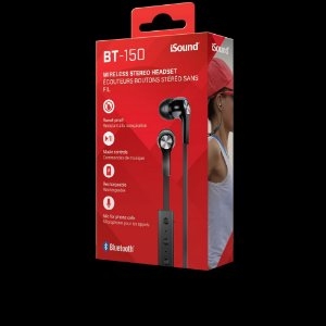 Fone de Ouvido Bluetooth Dreamgear Sport BK BT-150