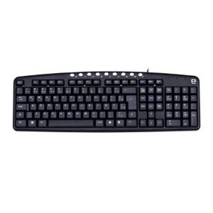 Teclado C3Tech KB2237 Multimidia USB Preto