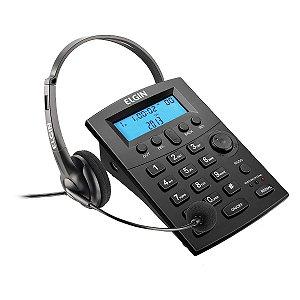 Telefone Headset Elgin HST-8000 com Identicador Chamadas
