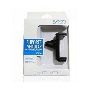 Suporte para GPS e Smartphone com fixação saída de ar Exbom Sp-A14
