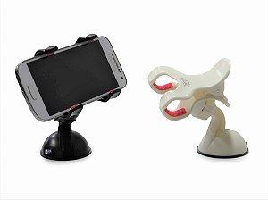 Suporte Para GPS e Smartphone Fixação Clique Duplo