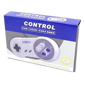 Controle Super Nintendo USB - Play Game