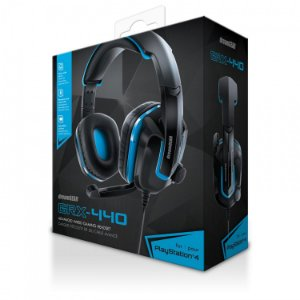 Headset PS4 Playstation 4 Xbox One Dreamgear GRX-440 - Azul