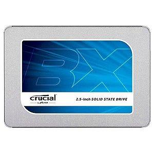 Hd Ssd Crucial 120gb 2.5 BX300 CT120BX300SSD1 - Prata