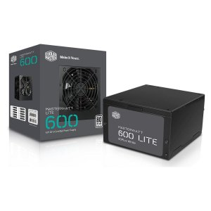 Fonte ATX Masterwatt 600w MPX-6001-ACAAW-WO Cooler Master