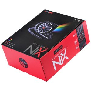 Water Cooler NIX 120mm Mangueiras de Nylon e Led RGB Pcyes PWC120H40PTRGB