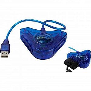 Adaptador USB com 2 Saídas para Controle PS2