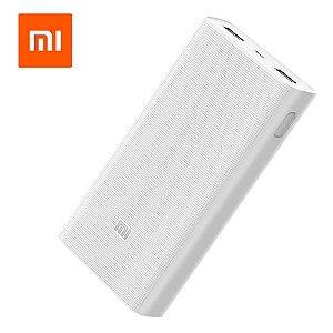 Carregador Portátil Usb 20000mah Xiaomi PLM06ZM Branco