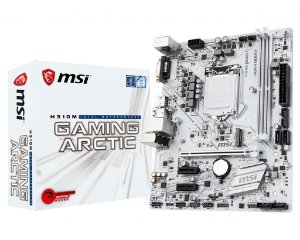 Placa Mãe MSI Intel H310M Gaming Artic Socket 1151