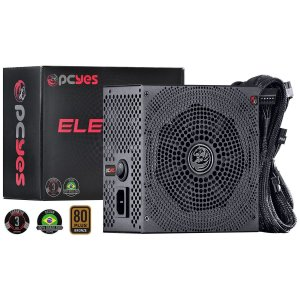 Fonte ATX 650W Real Pcyes Electro V2 Series 80 Plus Bronze