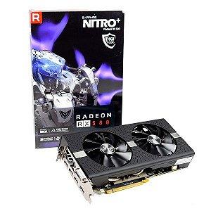 Placa de Video Sapphire RX580 Nitro+ OC 256Bits de 8Gb GDDR5