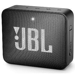 Caixa de som Bluetooth JBL GO 2 Preta Original