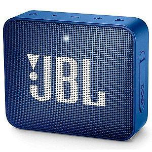 Caixa de som Bluetooth JBL GO 2 Azul Original