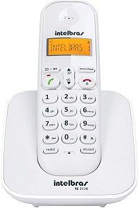 Telefone sem Fio Digital Intelbras TS3110 Branco