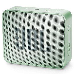Caixa de som Bluetooth JBL GO 2 Verde Menta Original